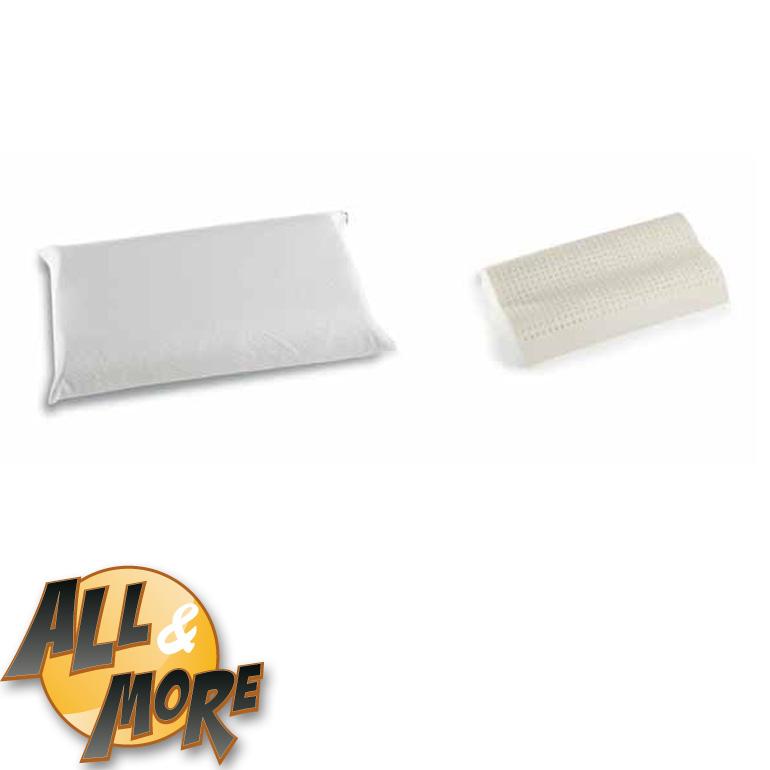 Cuscino Memory Foam Permaflex.All More It Guanciale Cuscino Permaflex Cervicale Camomilla In Memory Foam 42x67