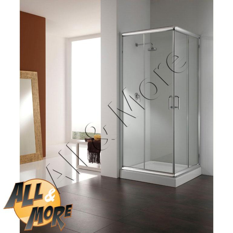 All&more.it   cabina box doccia semicircolare trasparente 90x90   ...