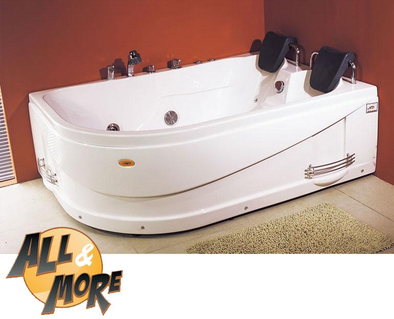 Vasche Da Bagno Idromassaggio : All more vasca da bagno idromassaggio sinistra computerizzata
