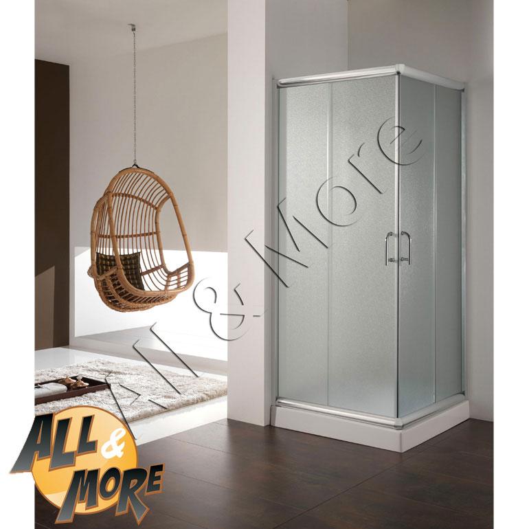 All&more.it   cabina box doccia quadrato opaco 75x75 altezza 200cm