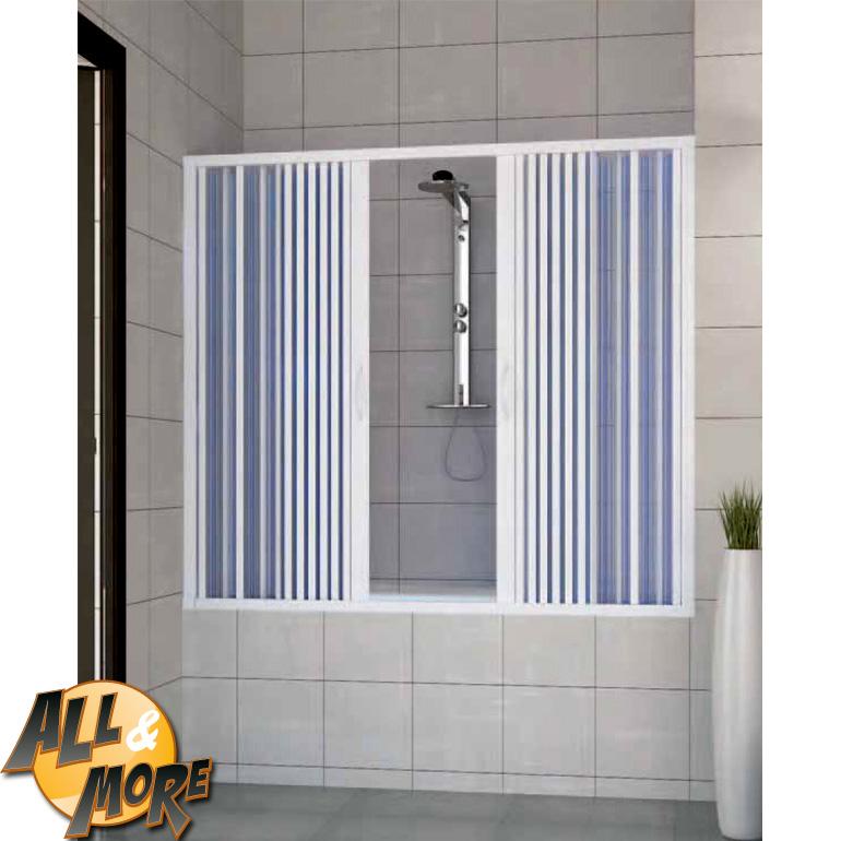 All&more.it   box cabina doccia angolare per vasca in pvc con ...