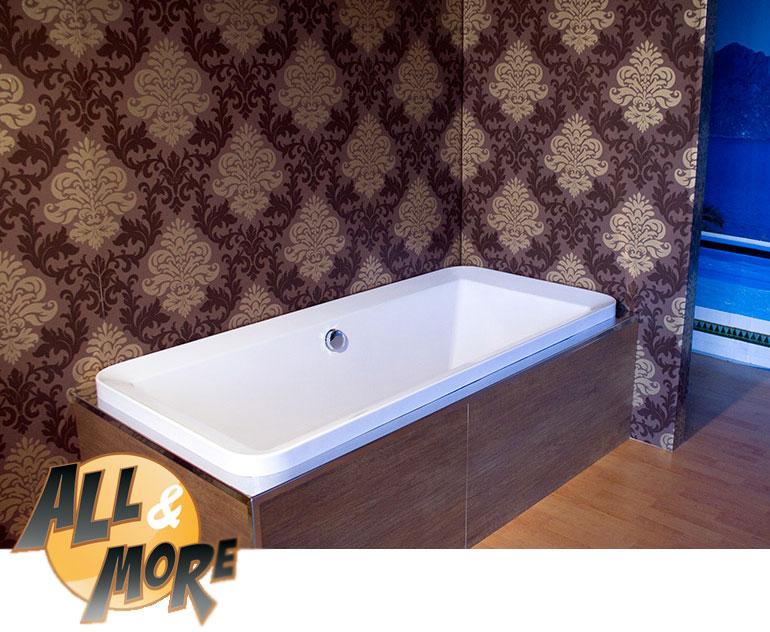 Vasche Da Bagno Da Incasso : All more vasca da bagno incasso