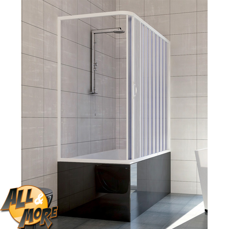 All box cabina doccia angolare per vasca in pvc - Vasca da bagno con apertura laterale ...