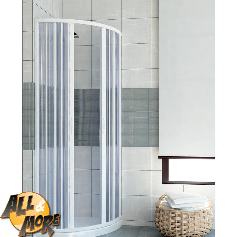 box cabina doccia semicircolare in pvc con apertura c box